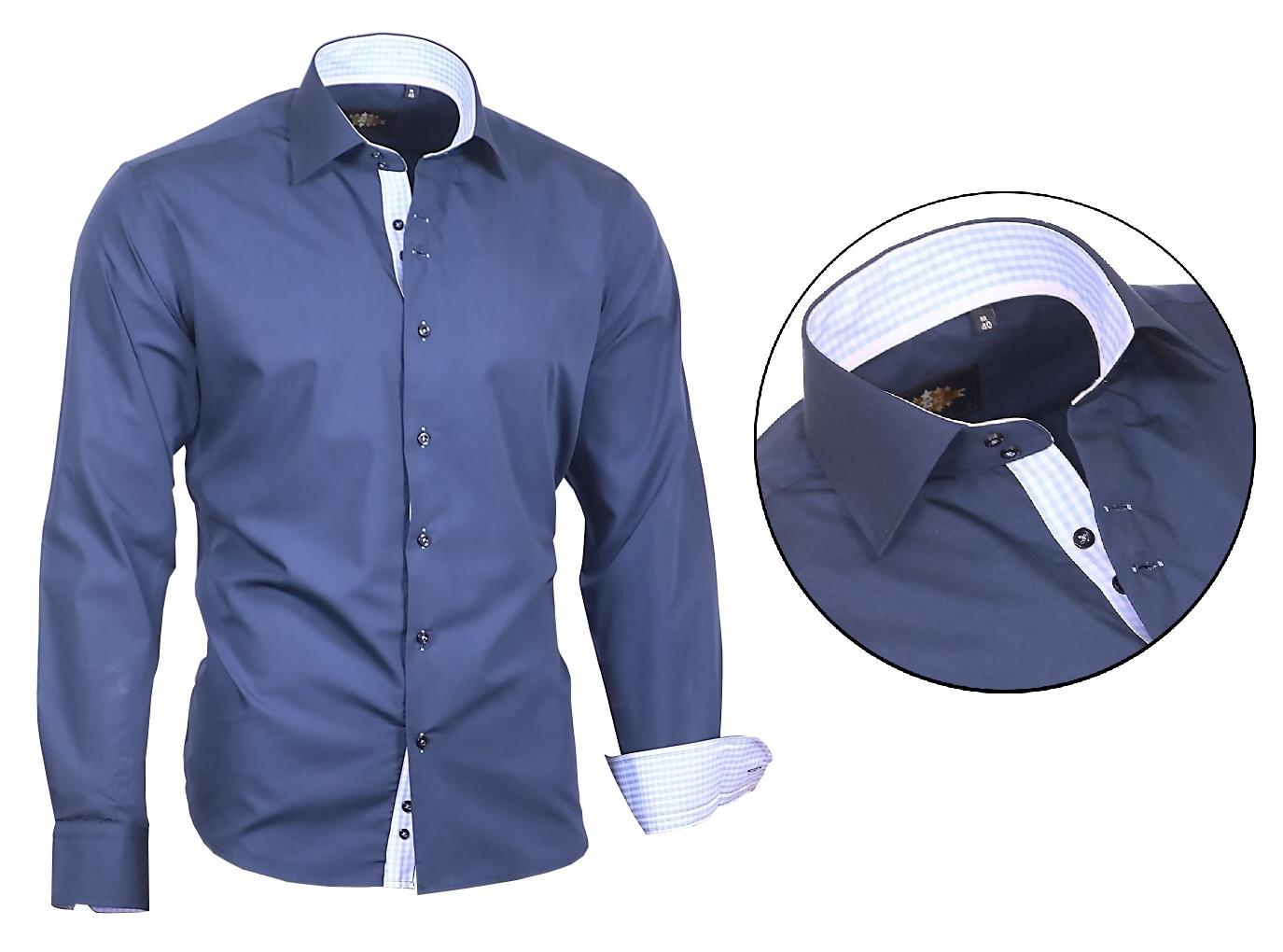 Camisa-camisa-camisas-camisa-Ober-camisa-boda-viga-reticulada-de-Luxe-823-807