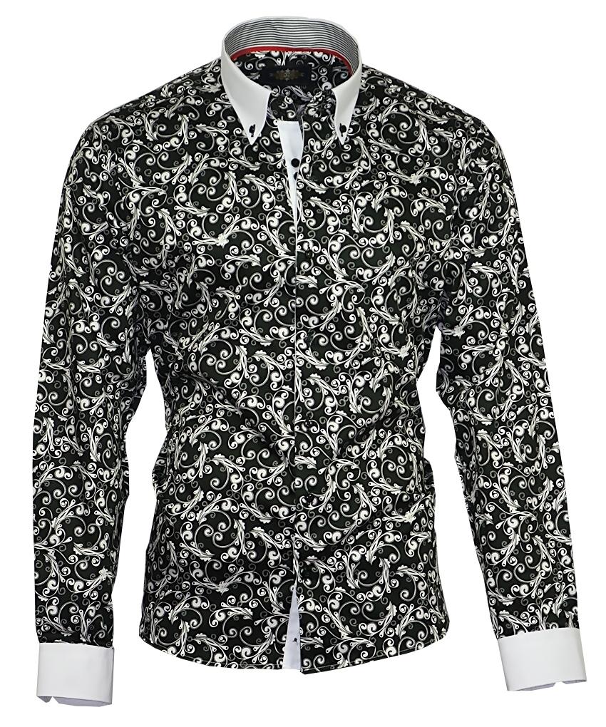 Herrenhemd Herren Hemd Satin Baumwolle Binder de Luxe 808 shirt   eBay 7af26007a7