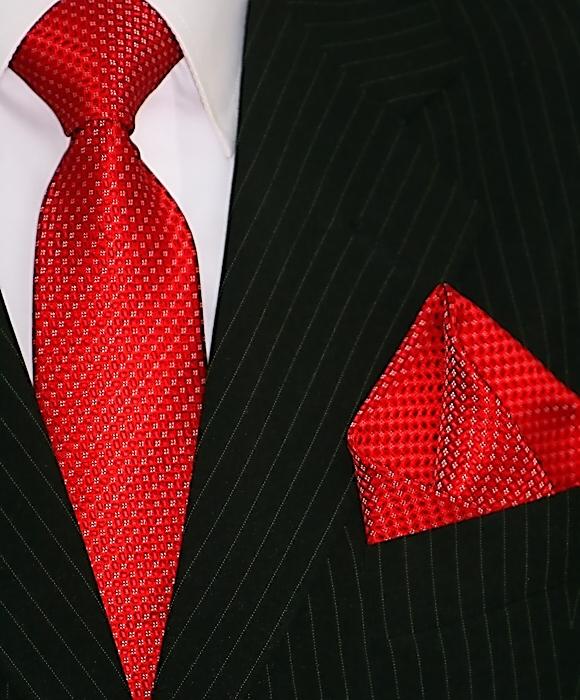 BINDER de LUXE Designer Cravate Plastron Cravates Set Tie 412 Bordeaux Rouge